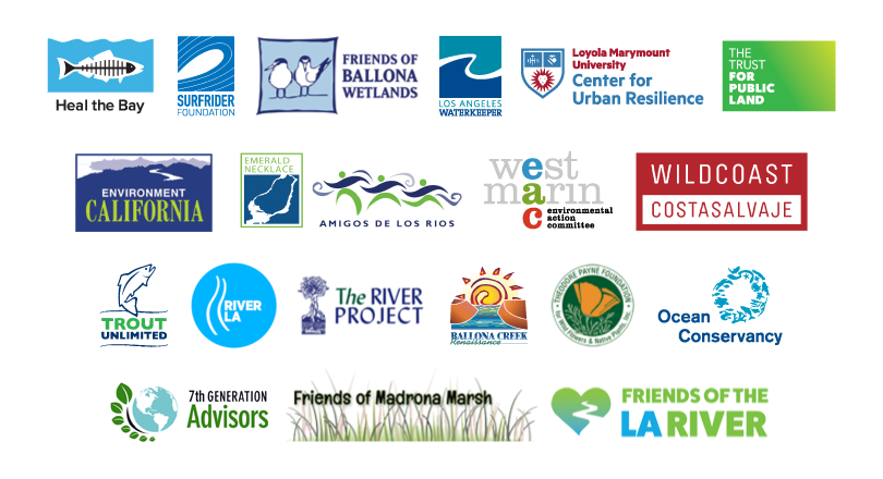 Wetlands Restoration Principles Coalition Partner Logos