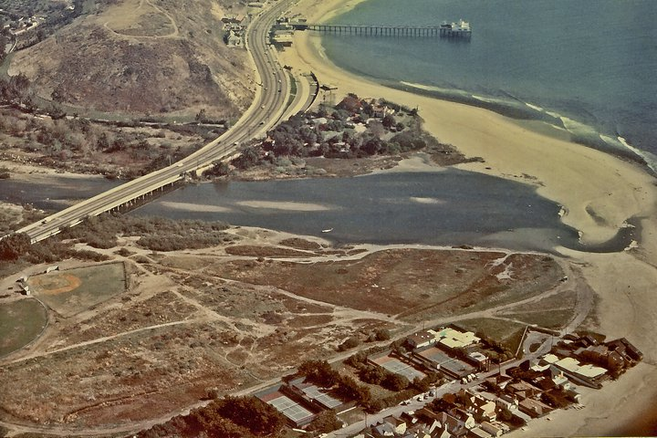 Malibu Lagoon in the 1970s