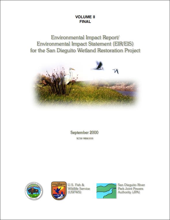 San Dieguito Wetland Restoration Project EIR-EIS